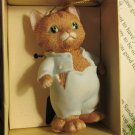 Tom Kitten Beatrix Potter Hand Crafted Hand Painted Porcelain Ornament by Schmid