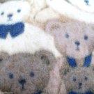 Teddy Bear Print Fleece Gift Idea Quilt Blanket JoAnn Fabric Plus FREE Backing