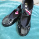 Girls Bloch Techno Tap Patent Tap Dance Shoes Jazz Group Dance Class 12W