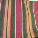 Western Textile Heavy Cotton Stripe Fabric Retro Craft Quilt PLUS FREE YDS