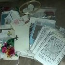 Vintage Lot Beginner Cross Stitch Kits Quickie Kit Love N Stitches Plus More