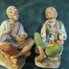 Vintage Figurines Elderly Japanese Couple Made By Homco 1431