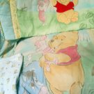 Disney Winnie the Pooh Bumper Quilt Blanket Sheet Cute Soothing  Set Very Cute