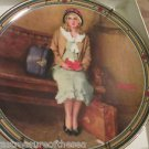 Norman Rockwell Young Girls Dream Norman Rockwell Series Knowles Collector Plate
