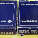 Two Vintage Decks Eastern Airlines Playing Cards Bridge Size Original