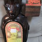Empty Kahlua Bottle Heritage Edition Collectible 980 ML Polynesian Statue Tags