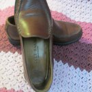 Cole Haan Country Womens Tan Leather Loafers Flats Shoes Treaded Sole 6 1/2 B