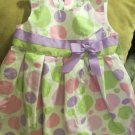 Girls Sophie Rose Pastel Dot Sundress Sz 3T Dress Up Casual or Holiday