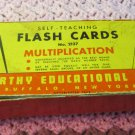Kenworthy Educational Self Teaching Multiplication Flash Cards 1948 W 1960 Cards