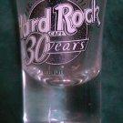Hard Rock Cafe Beijing 2001 30th Anniversary Logo EST London 1971 Shot Glass NIB