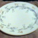 Noritake China WAVERLY  Pattern 591  Serving PlatterOval 13 inch