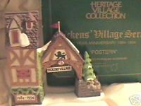 Dickens Village Postern Ten Year Anniversary Dept 56 Vintage Collectible NIB