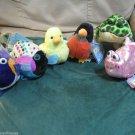 Webkinz Lil' Kinz Robin Canary Bullfrog Pink  Fish Polka Dot or Gold Fish Choose