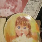 Frances Hook Legacy Plate Series Fascination  Daydreaming Knowles Plates 1985