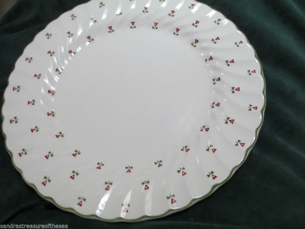 Six Pieces Johnson Brothers Laura Ashley Thistle 1983-86