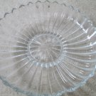 Vintage Heisey Glass Crystolite Elegant Crystal Signed Floral Bowl