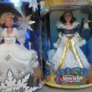 Disney Barbie Cinderella and Snow White Holiday Princess Special Edition NIB
