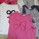 Five Girl 3T Clothing Lot Tops Shirts Gymboree Jumping Beans Carters Very Nice