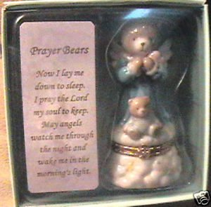 Prayer Bear By Roman Now I Lay Me Down To Sleep New