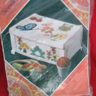 New In Package Needlepoint 8122 Ecology Sewing Box Kit 1973 Columbia Minerva Co