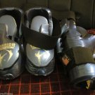 Blue Warrior Sparing Gloves and Foot Protectors Small Youth SZ 10-1 Shoe