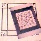 Vintage Jeanette Crews Designs Alphabet Sampler Picture Kit JC 29 NIP