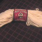 Vintage Lot Four Aunt Lydia Heavy Rug Yarn Natural 70 Yard Skein