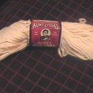Vintage Lot Four Aunt Lydia Heavy Rug Yarn Natural 70 Yard Skein