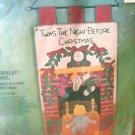 Vintage Needlecraft Bucilla Jeweled Panel Twas The Night Before Christmas NIP