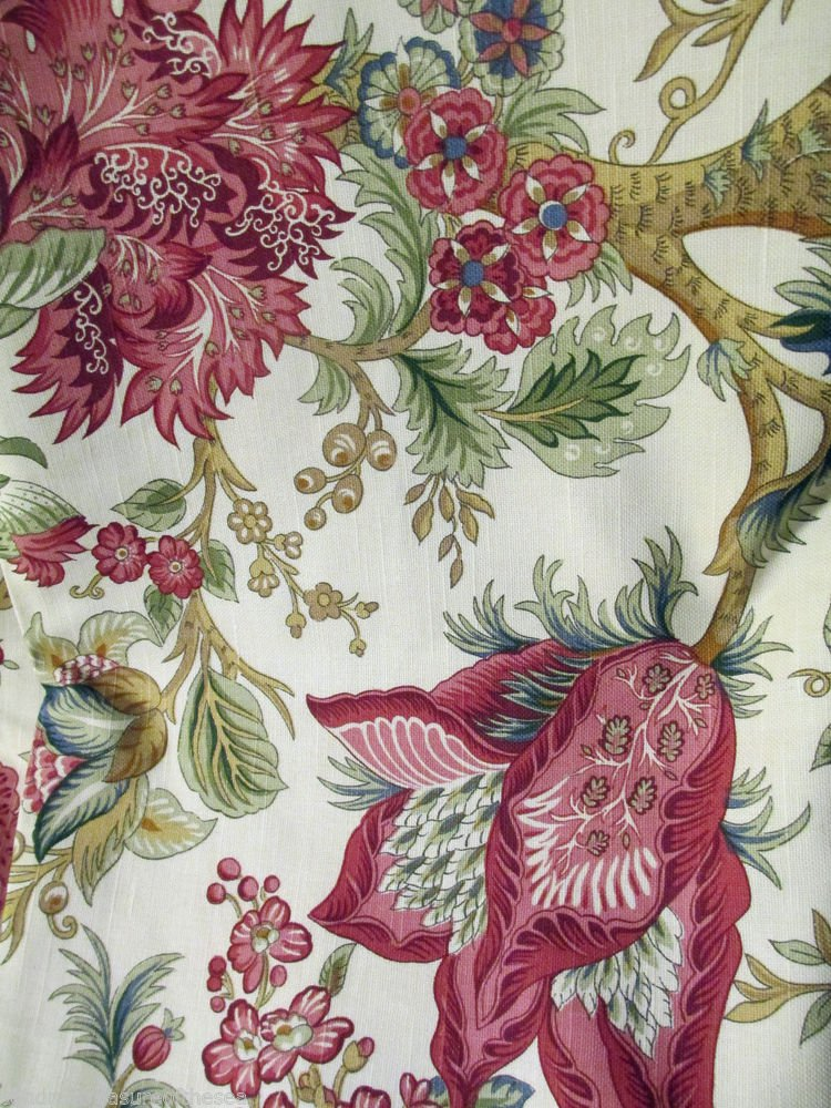 Lot Ten Yds Plus Fabric Design Original Floral Patterns or Other Similar Fabric