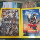 Two National Geographic Magazine July Dec 1997 Robot Revolution Tigers W Maps
