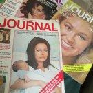 Lot Ladies Home Journal Feb March April 1973 .Sophia Loren Joan Kennedy Liz