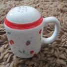 Vintage Rare Japan Berries Jubilee Design Ceramic Salt Shaker Love Heart Wedding
