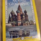 National Geographic Magazine 1966 March American In Moscow Hot-Air Balloons
