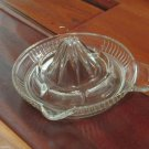 Vintage Anchor Hocking Clear Glass Lemon Reamer Juicer Litchenware