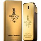 Paco Rabanne 1 Million Eau de Toilette 100ml 3.3 oz New Box Sealed 100% Original