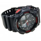 Casio G Shock Alarm Chronograph GA 100 1A4 Men Sport Date Watch 100% Original