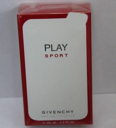 Givenchy Play Sport EDT 100ml 3.3oz New Box Sealed 100% Original