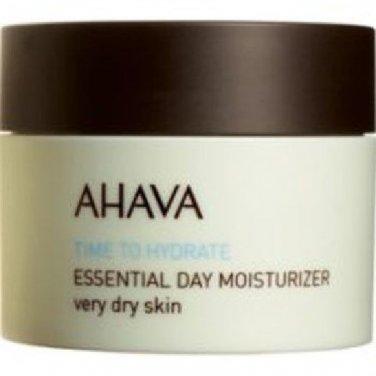 AHAVA Time to Hydrate Essential Day Moisturizer Dry Skin 1.7oz (50ml) New Sealed