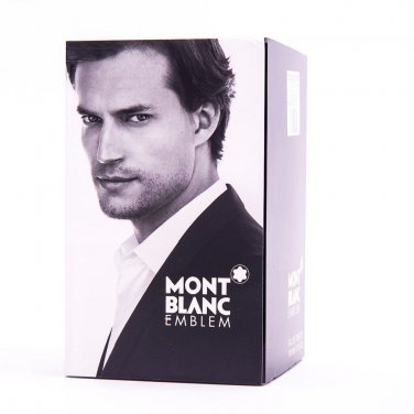 Mont Blanc Emblem for Men Eau de Toilette 100ml 3.4oz New In Box 100% Original