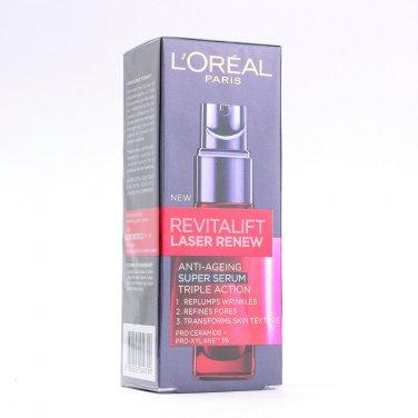 L'Oreal Revitalift Laser Serum for wrinkles & skin firmness 30ml 100%Original