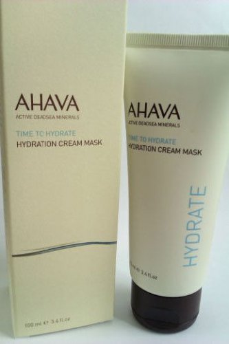 AHAVA Time To Hydrate Hydration Cream Mask 3.4oz 100 ml New Face Moisturizer
