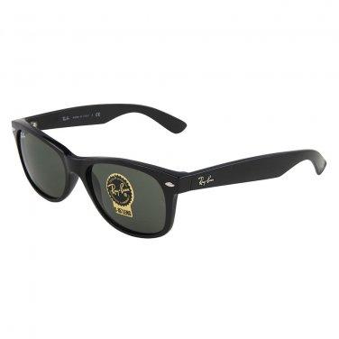 Ray Ban Sunglasses 2132 901L Black/ Green Lens Wayfarer 55mm 100% New & Original