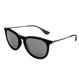 482cc48f892 Ray Ban Sunglasses 4171 6075 6G Erika Velvet Black Mirrored 100% New    Original
