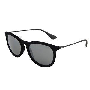 Ray Ban Sunglasses 4171 6075/6G Erika Velvet Black Mirrored 100% New & Original