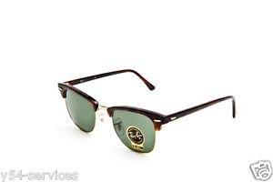 Ray Ban Sunglasses Clubmaster RB 3016 W0366 tortoise / arista 100% New Original