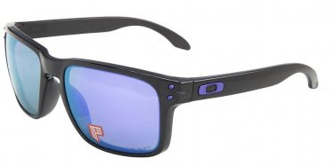 Oakley Sunglasses 9102-67 Blank Ink/ Violet Iridium Polarized 100% Original