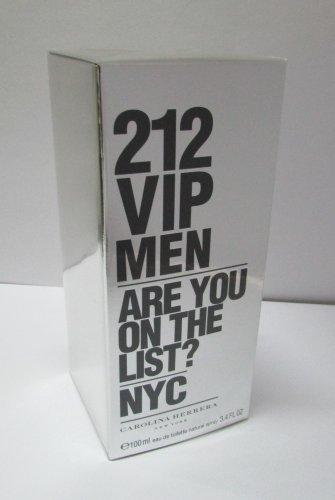 Carolina Herrera 212 VIP Men Eau de Toilette 100ml 3.4oz New Box 100% Original