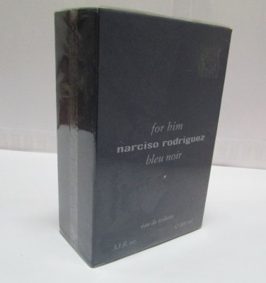 Narciso Rodriguez For Him BLEU NOIR 100ml 3.4oz Eau de Toilette EDT NEW Original