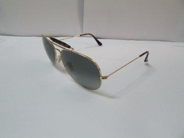 Ray-Ban Sunglasses Outdoorsman II 3029 181/71 Gold Havana Grey Gradient Original
